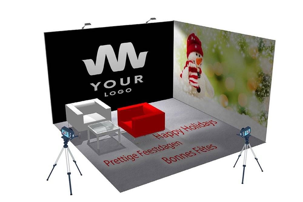 thema presentatiewanden voor videomarketing