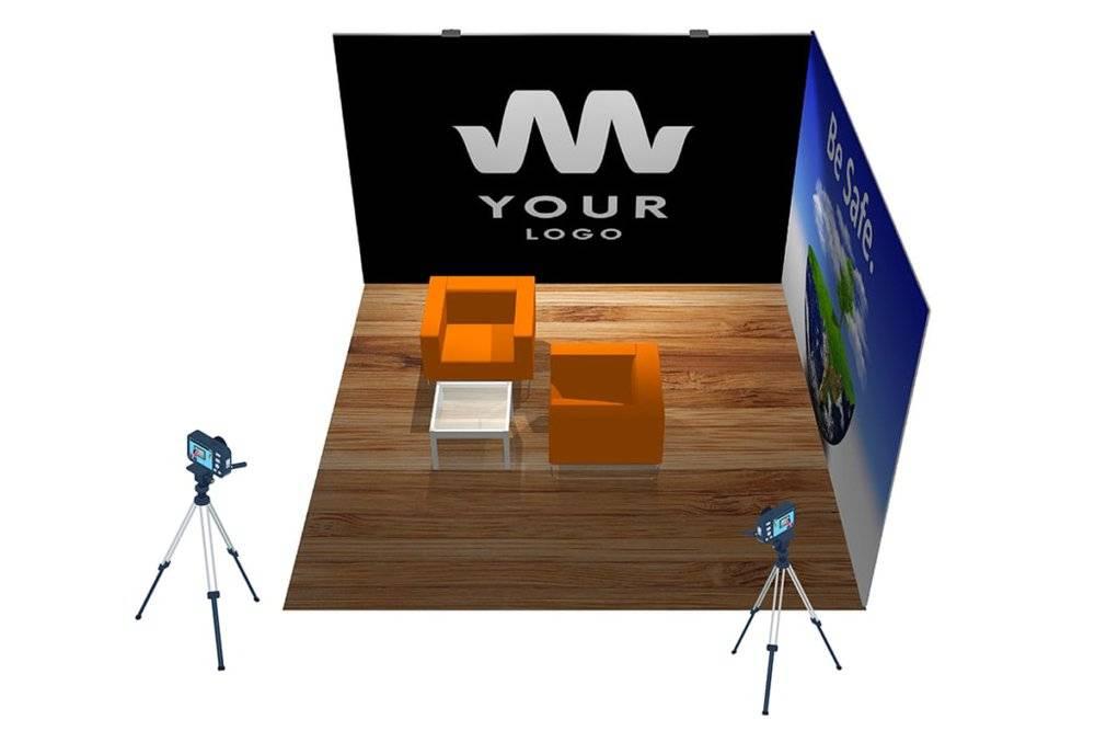 presentatiewand voor elk type videomarketing